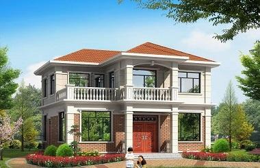 农村二层自建房屋设计图,含全套完善施工图纸,请放心购买!