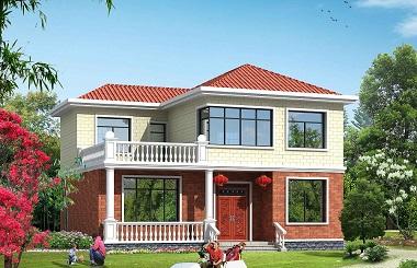 新年热销款二层小户型自建房屋设计图,大众尺寸,造价合理