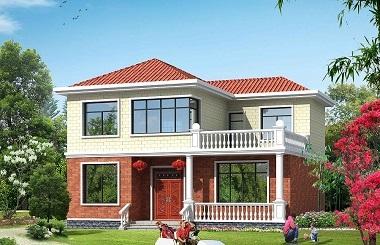 非常实用的一款二层自建房屋设计图,造价25万左右,建房首选