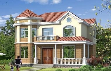 造价25万左右的农村自建房屋设计图,复式自建房屋,自建房首选!