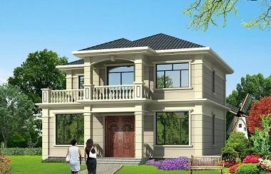非常精品的一款二层自建房屋设计图,造价合理,经济实用