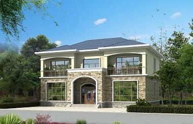 经典二层自建房屋设计图,非常经济实用的一款设计方案