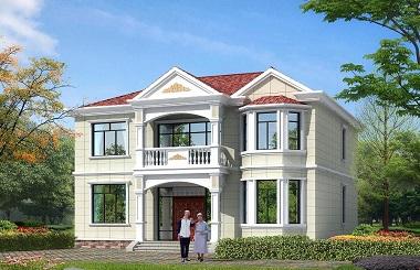 13*14m二层自建房屋设计图,造价35万左右经济实用