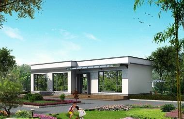 造价15万左右的一层自建房屋设计图,美观温馨,适合一家人居住