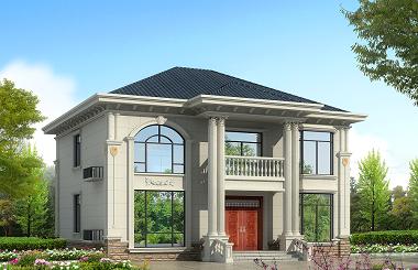 热销款二层自建房屋设计图,美观实用,自建房不二选择