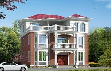 新年热销款欧式田园复式别墅设计图,布局美观实用,自建房不二选择