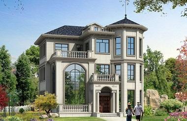 古典三层复式自建房屋设计图,带有地下室