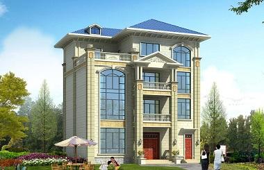 14*13m复式四层自建房屋设计图,造价60万左右