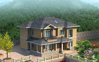 简单的二层自建房屋设计图,经济实用