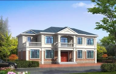 精品二层自建别墅设计图,19*11m,美观且实用