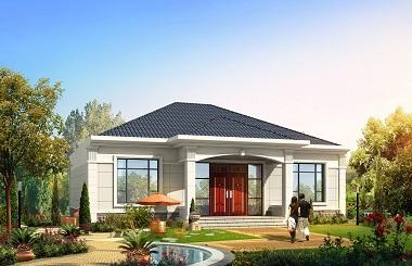 轩鼎原创精品农村自建房屋设计图,造价17万左右