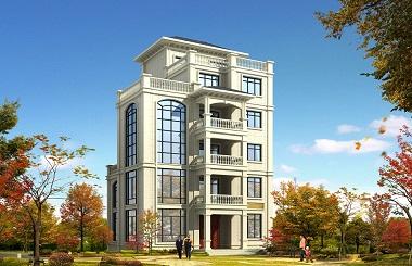 13*13米现代6层自建房屋设计图,可做民宿