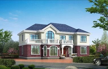 19*12m精品二层田园别墅设计图,含全套完善施工图纸