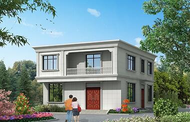 经典二层自建房屋设计图,经济实用