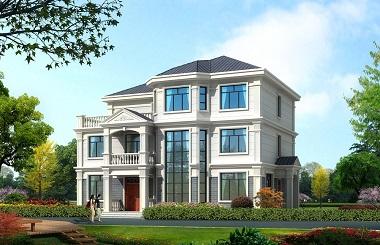 现代简约三层复式别墅设计图,含全套完善施工图纸,轩鼎原创出品