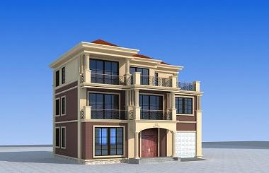 一款非常精致的中式三层自建别墅设计图,布局完善,高端大气