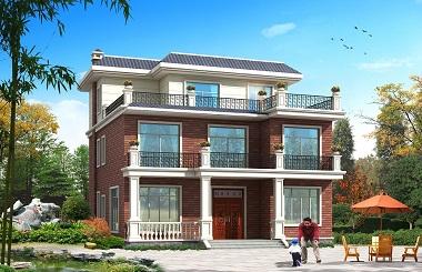 经典三层农村自建房屋设计图,造价40万左右,经济实用