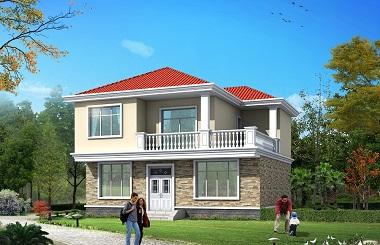 造价20万左右的小户型自建别墅设计图,美观精致
