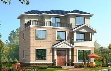 性价比超高的农村自建房屋设计图,房间数量正可好,适合一家人居住