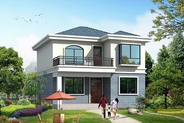 农村二层自建房屋施工图,温馨实用,自建房屋首选