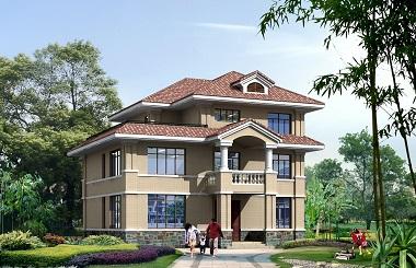 现代三层复式别墅设计图,造价45万左右,轩鼎原创出品含全套完善施工图纸