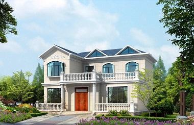 经典二层自建别墅施工图,布局完善,美观精致