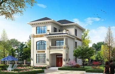 小巧精致的三层自建小别墅设计图,含全套完善施工图纸