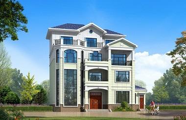 现代四层复式别墅设计图,采光良好,经济实用,含全套完善施工图纸