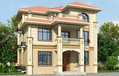 农村别墅设计图自建房屋施工图纸自建别墅设计