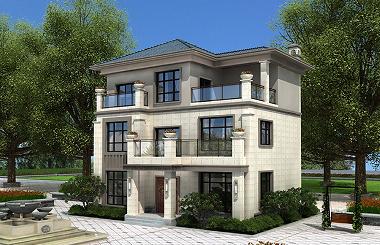 精品三层自建别墅设计图新中式风格自建房屋高端自建别墅