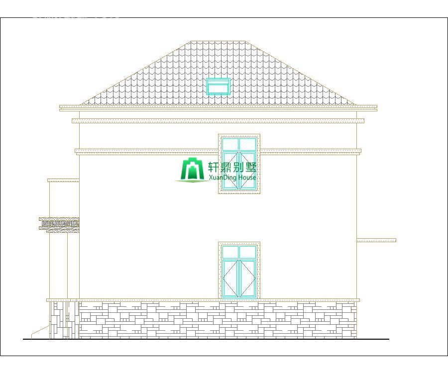 新中式二层自建别墅设计图,含全套完善施工图纸8.jpg