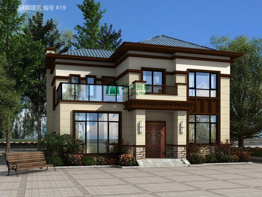 新中式二层自建别墅设计图,含全套完善施工图纸2.jpg