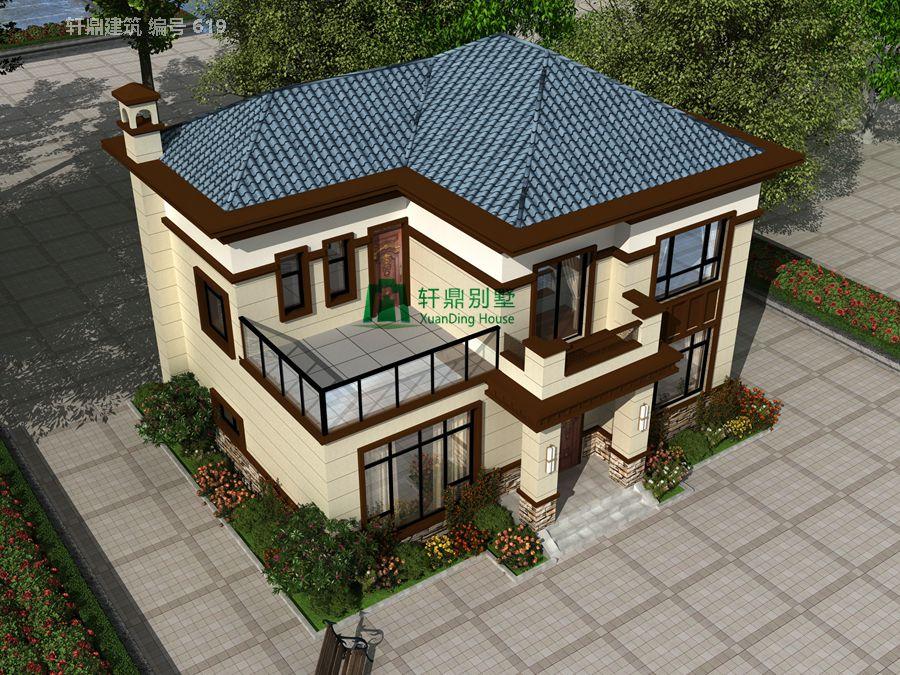新中式二层自建别墅设计图,含全套完善施工图纸3.jpg