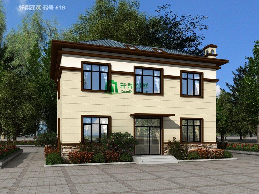 新中式二层自建别墅设计图,含全套完善施工图纸4.jpg