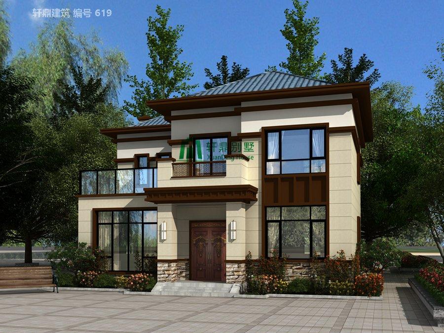 新中式二层自建别墅设计图,含全套完善施工图纸1.jpg