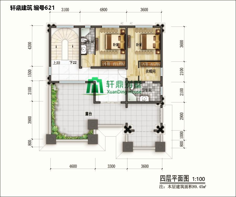 高端欧式四层自建别墅设计图14.jpg