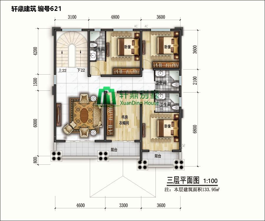 高端欧式四层自建别墅设计图13.jpg