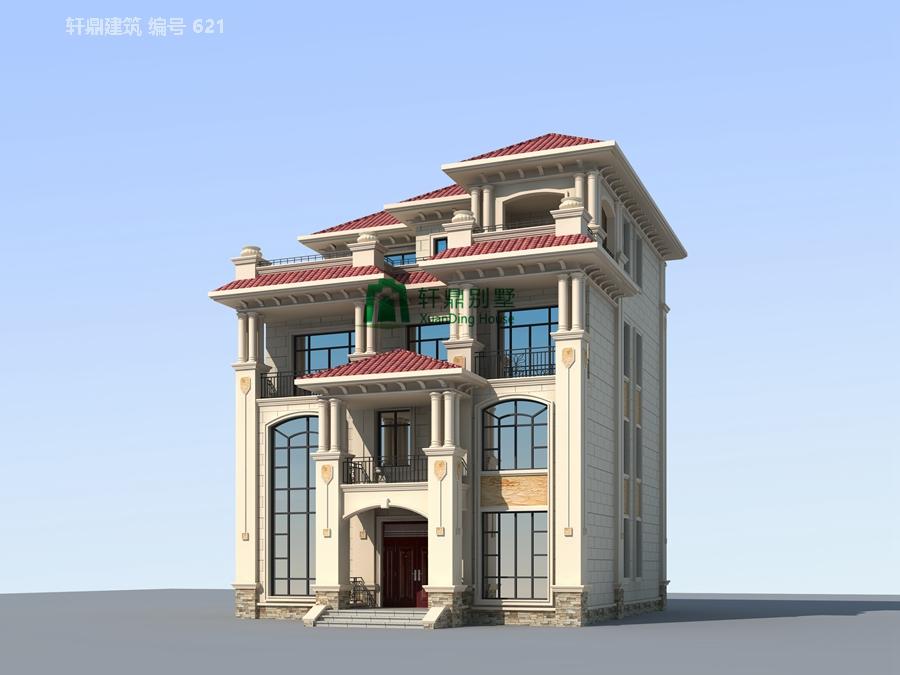 高端欧式四层自建别墅设计图2.jpg
