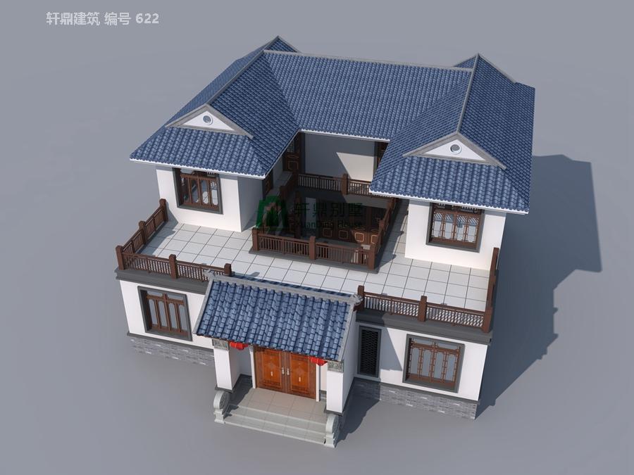 1高端带院中式自建别墅设计图8.jpg