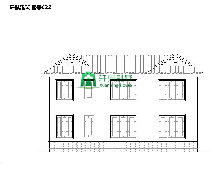 高端带院中式自建别墅设计图4.jpg