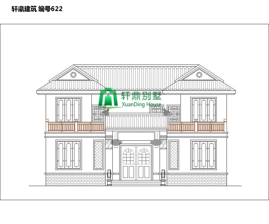高端带院中式自建别墅设计图3.jpg