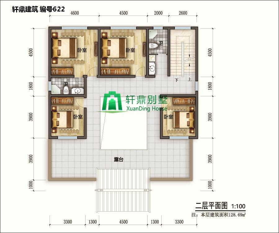 高端带院中式自建别墅设计图2.jpg