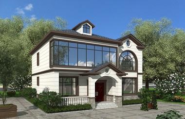 经典二层自建房屋设计施工图,农村自建房屋设计