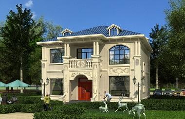 欧式自建别墅设计图,小户型更精致