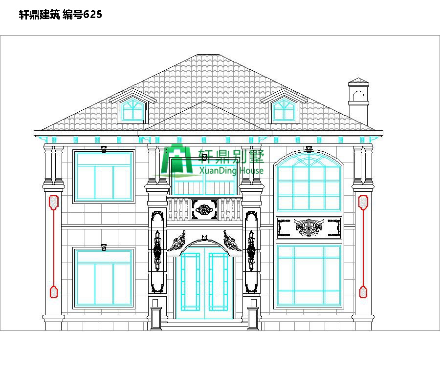 小户型欧式自建别墅设计图1.jpg