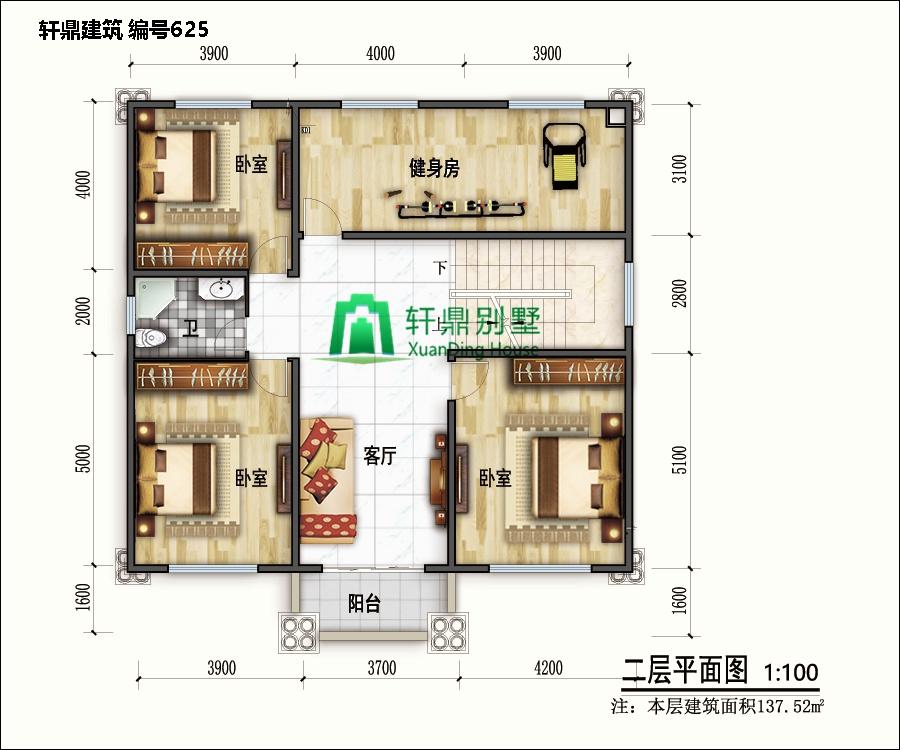 小户型欧式自建别墅设计图6.jpg
