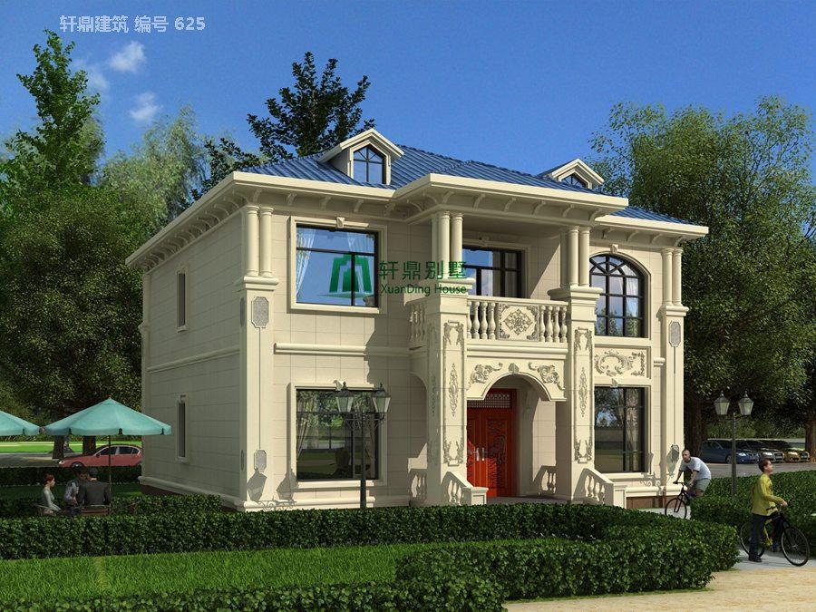 1小户型欧式自建别墅设计图3.jpg