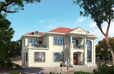 现代简约二层自建别墅设计施工图,含全套完善施工图纸