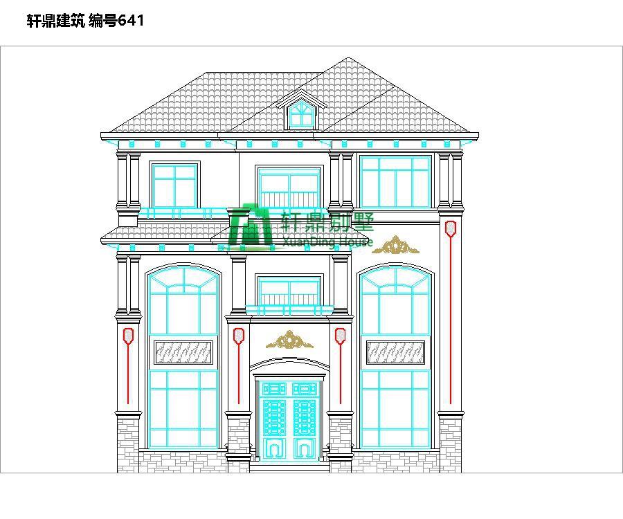 欧式三层自建别墅设计图1.jpg