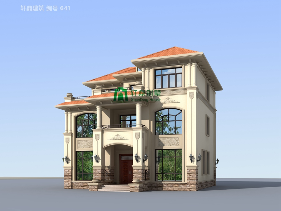 欧式三层自建别墅设计图12.jpg